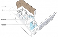 Exploded View of Lobby Proposal